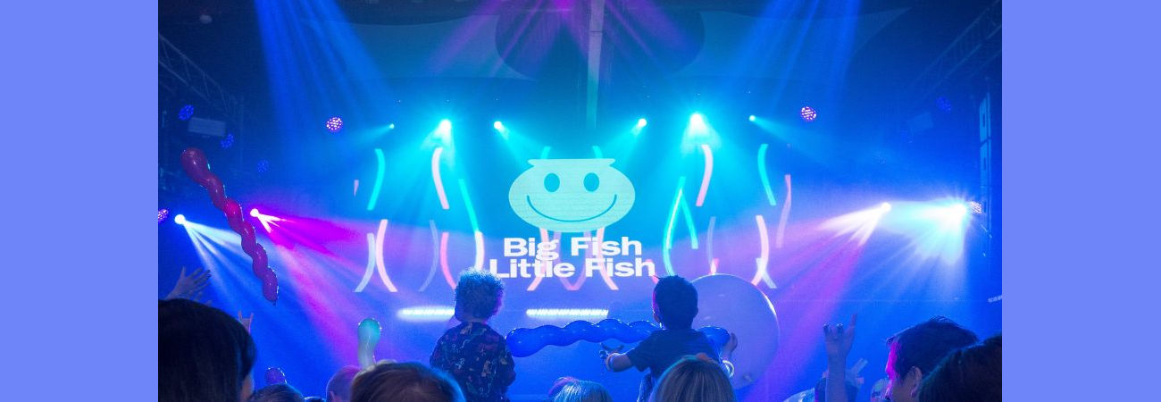 Big Fish Little Fish Ireland - NYE Family Rave